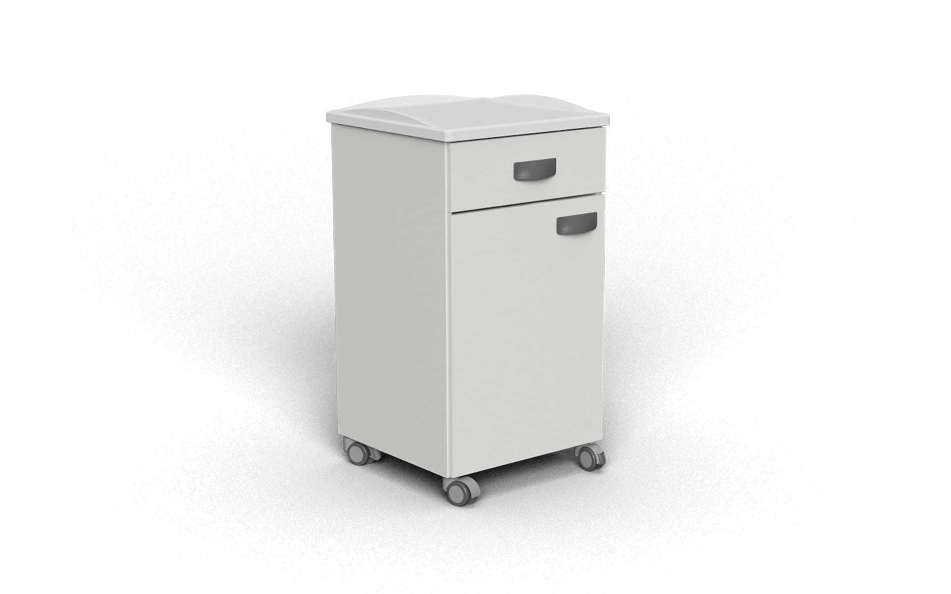 ABS TOP SURFACE BEDSIDE CABINET