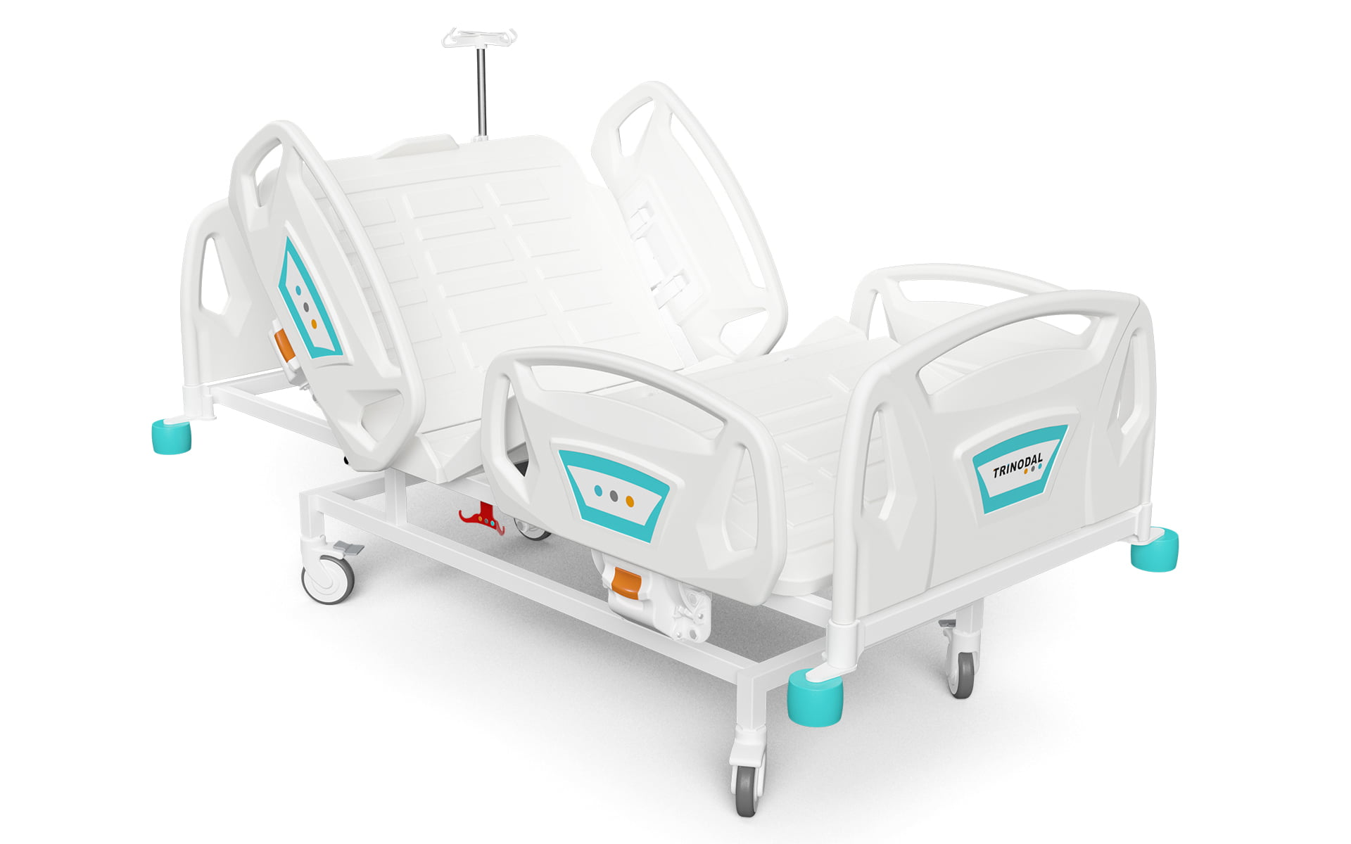 TWO MOTORIZED ELECTRONIC BED