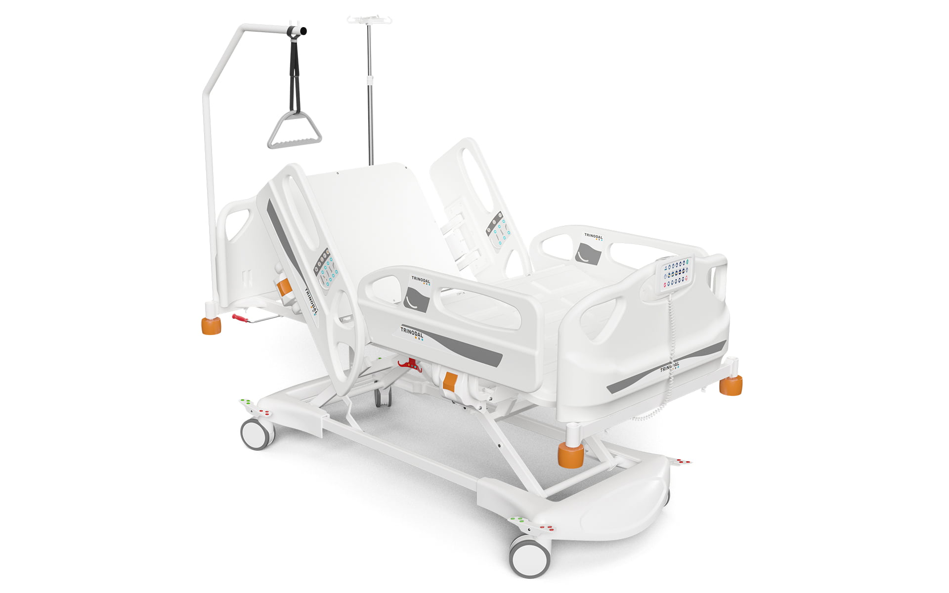 FOUR MOTORIZED ELECTRONIC BED
