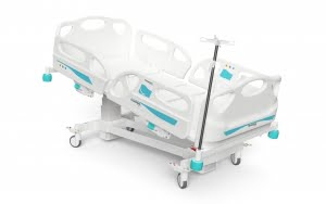 FOUR MOTORIZED COLUMN ELECTRONIC BED