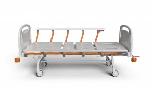 3 ADJUSTMENTS MANUAL BED WITH FOLDABLE LEGS