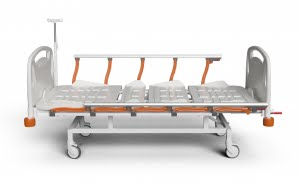 3 ADJUSTMENTS MANUAL BED WITH ABS SURFACE
