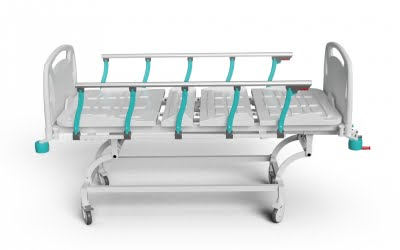 4 ADJUSTMENTS MANUAL BED WITH ABS SURFACE