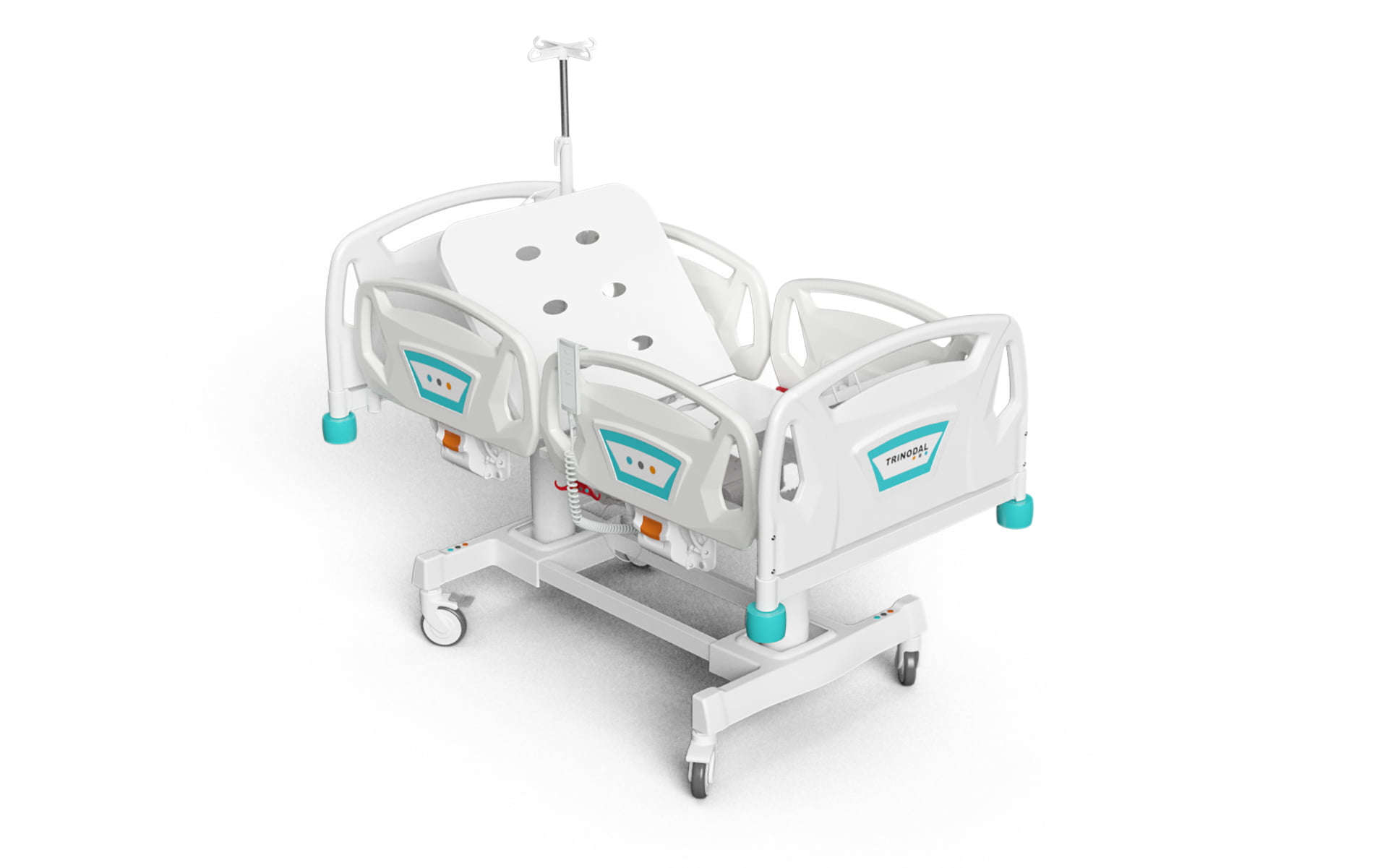 2 MOTORIZED PEDIATRIC BED WITH PP BOARDS