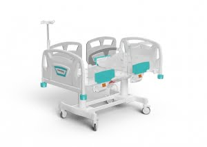 2 MOTORIZED PEDIATRIC BED
