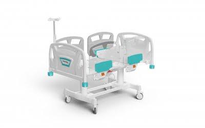 2 MOTORIZED PEDIATRIC BED