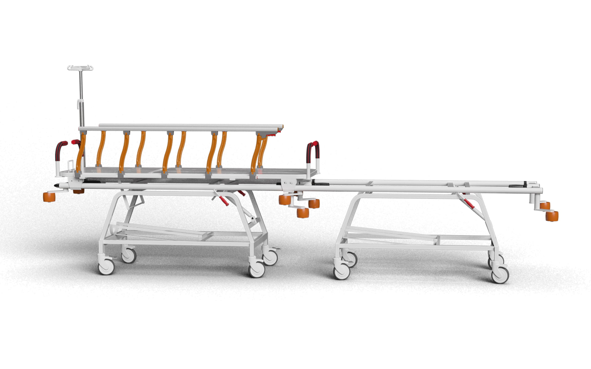 TRANSFER STRETCHER WITH TRENDELENBURG